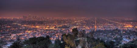 Dawn in LA Stock Photo