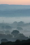 Dawn Landscape cambiante Imagen de archivo