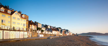 Dawn at Lyme Regis Royalty Free Stock Photos