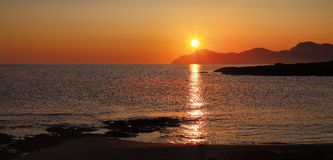Dawn on Majorca Stock Images