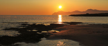 Dawn on Majorca Stock Image