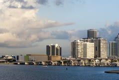 Dawn In Miami Stock Images