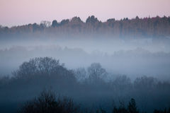 Dawn Mist Royalty Free Stock Photo