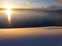 Dawn Mitchell Peninsula Antarctica Stock Photo