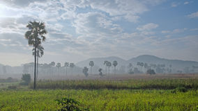 Dawn in Myanmar Stock Photography