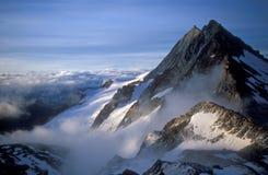 dawn nad szwajcarem alpy Zdjęcie Stock
