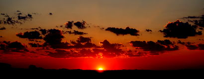 Dawn in Norfolk Stock Foto's