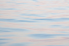 Dawn ocean surface pattern Stock Photography