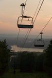 Dawn op de Berg Stock Afbeelding