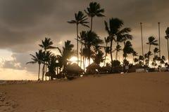 Dawn op de oceaan royalty-vrije stock afbeelding