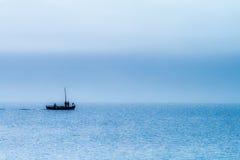 Dawn op het overzees Royalty-vrije Stock Foto's