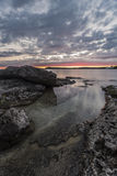 Dawn op Tobermory Stock Afbeeldingen