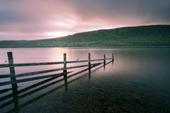 Dawn over Coniston Water Royalty Free Stock Photography