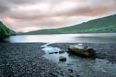 Dawn over Coniston Water Royalty Free Stock Images