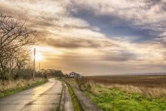 Dawn over Dee Royalty-vrije Stock Foto's
