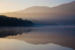 Dawn  over Lake Royalty Free Stock Photography