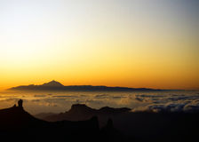 Dawn over Tenerife #1 Stock Image