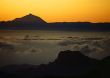 Dawn over Tenerife #2 Stock Images