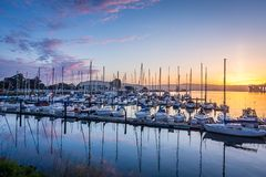 Free Dawn Over The East Bay Stock Photography - 122963932