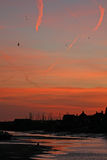 Dawn over Wells-next-the-Sea Stock Photography