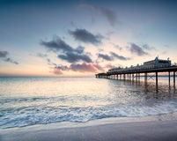 Dawn at Paignton Stock Photos