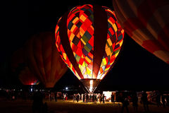 Dawn Patrol at the Great Reno Balloon Race Stock Photos