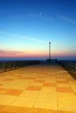 Dawn Pier Αγγλία Στοκ Φωτογραφίες