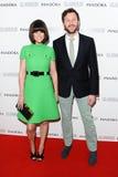 Dawn Porter en Chris O'Dowd Stock Foto