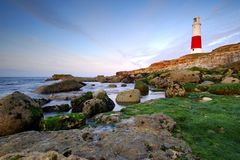 Dawn at Portland Bill Royalty Free Stock Image