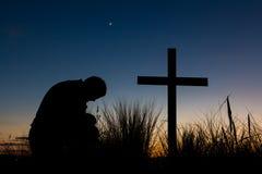 Dawn Prayer Stock Photo