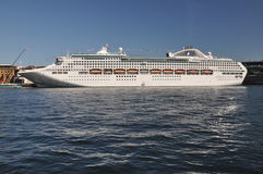 Dawn Princess Cruise Ship Royalty Free Stock Photos