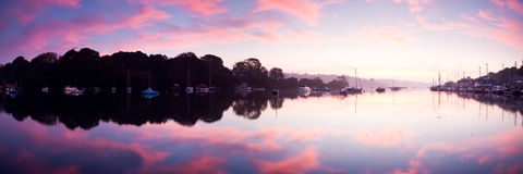 Dawn Reflections Royalty Free Stock Photo
