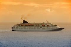 dawn rejsu statku zdjęcia stock