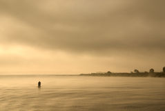 Dawn at the river. Royalty Free Stock Photos