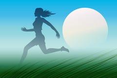 Dawn Runner Lizenzfreie Stockbilder