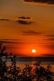 Dawn at sea Royalty Free Stock Photos