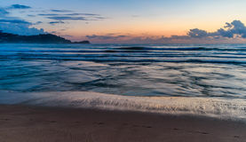 Dawn Seascape. Taken at Avoca Beach, Central Coast, NSW, Australia Stock Photos