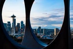 dawn Seattle zdjęcie stock