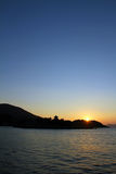 Dawn at Seto Inland sea Stock Image