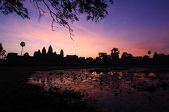 The Dawn in Siamreap Royalty Free Stock Images