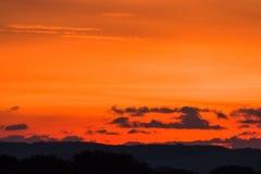 Dawn Sky Background Copy Text Royalty Free Stock Photos