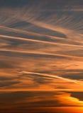 Dawn sky stock image