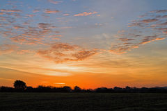 Dawn Sky over Sussex Stock Photography