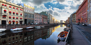 Dawn on St. Petersburg Royalty Free Stock Photography