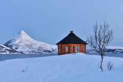 Dawn on Stonnesbotnen, Senja Royalty Free Stock Images