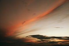Dawn streak Stock Photography
