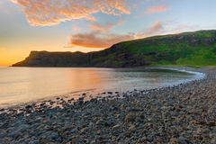 Dawn at the Talisker Bay Stock Photography