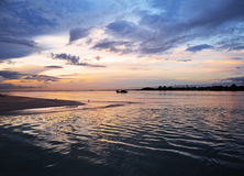 Dawn at Tanjung Api. Early morning shot at Tanjung Api, Kuantan, Malaysia Royalty Free Stock Image