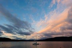 Dawn Te Anau Στοκ εικόνα με δικαίωμα ελεύθερης χρήσης