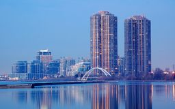 In Dawn - Toronto Royalty-vrije Stock Foto
